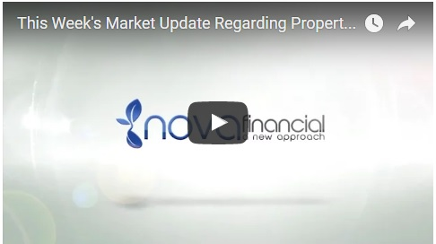 This Week's Market Update Regarding Property and Mortgages
