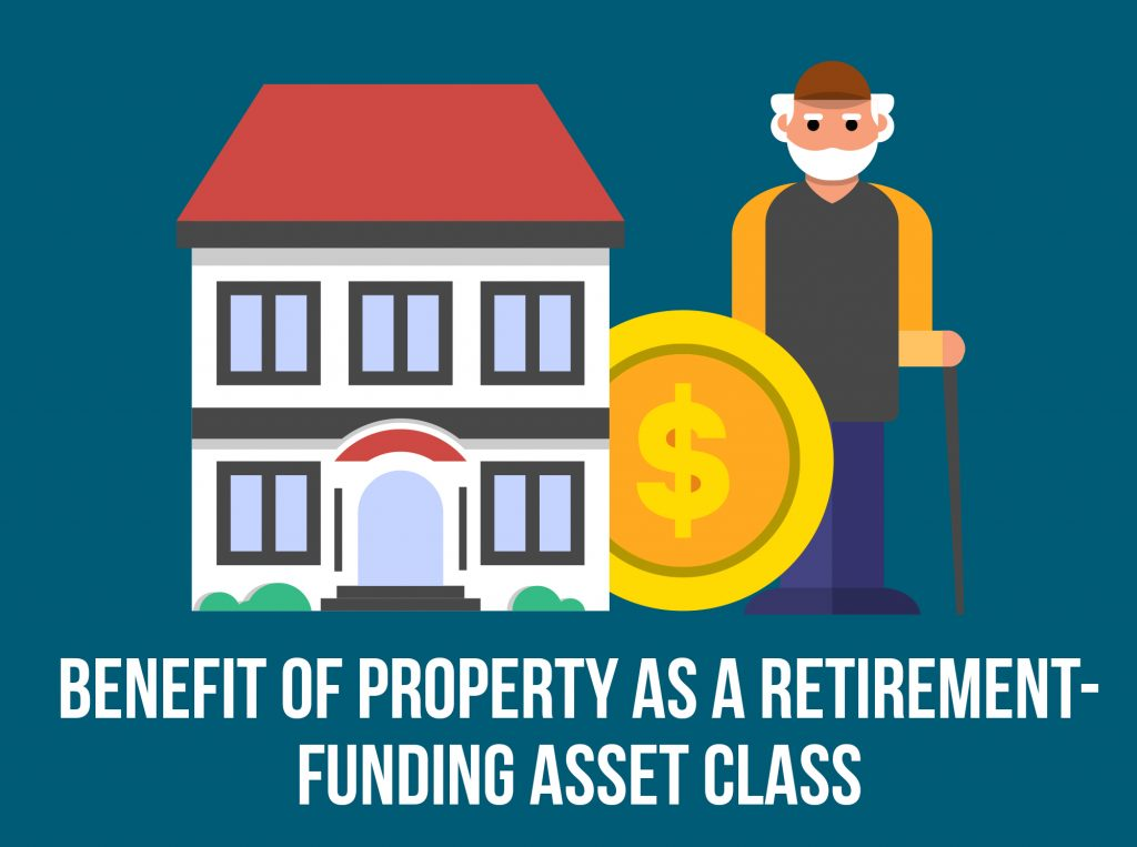 Benefit of Property as a Retirement-Funding Asset Class