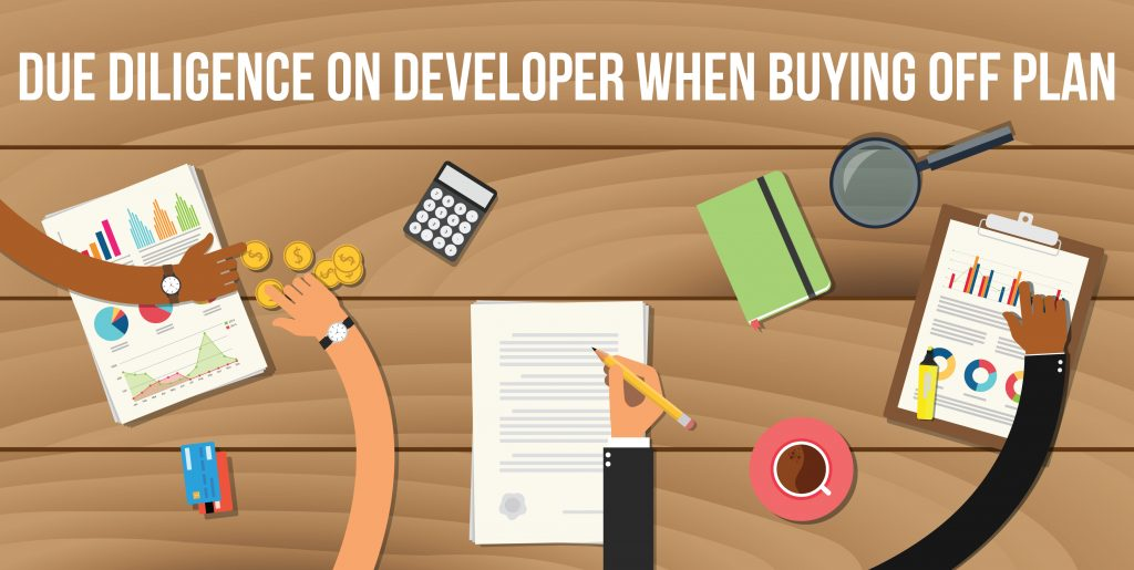Due Diligence on Developer when buying Off Plan
