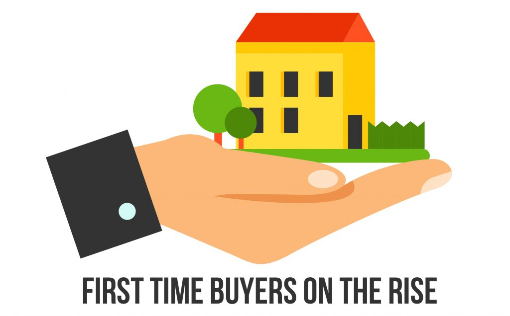 First time buyers on the rise