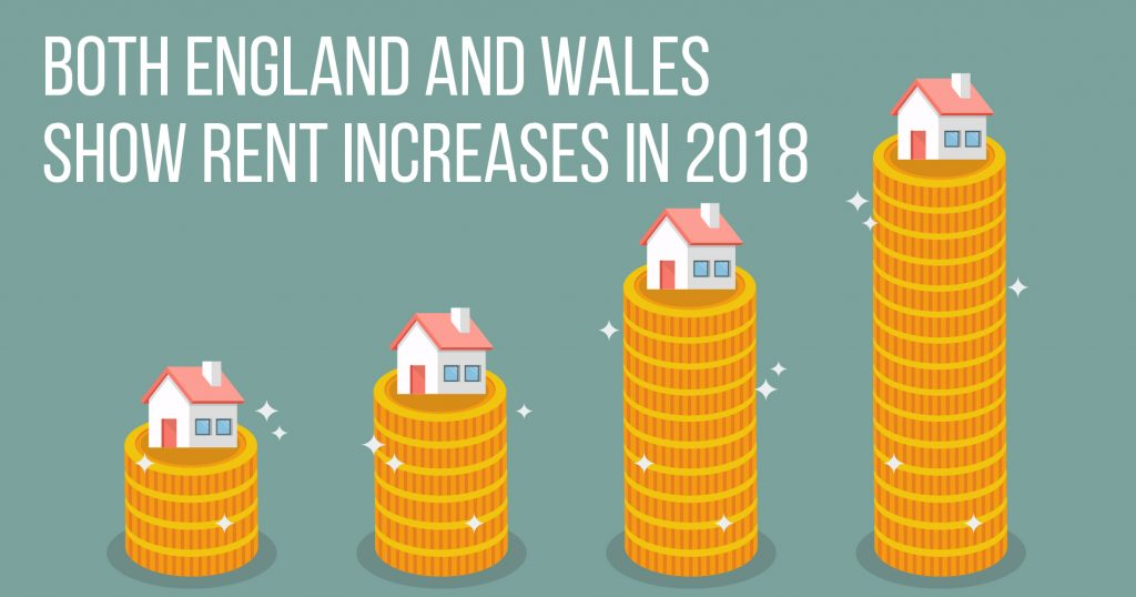 Both England and Wales Show Rent Increases in 2018