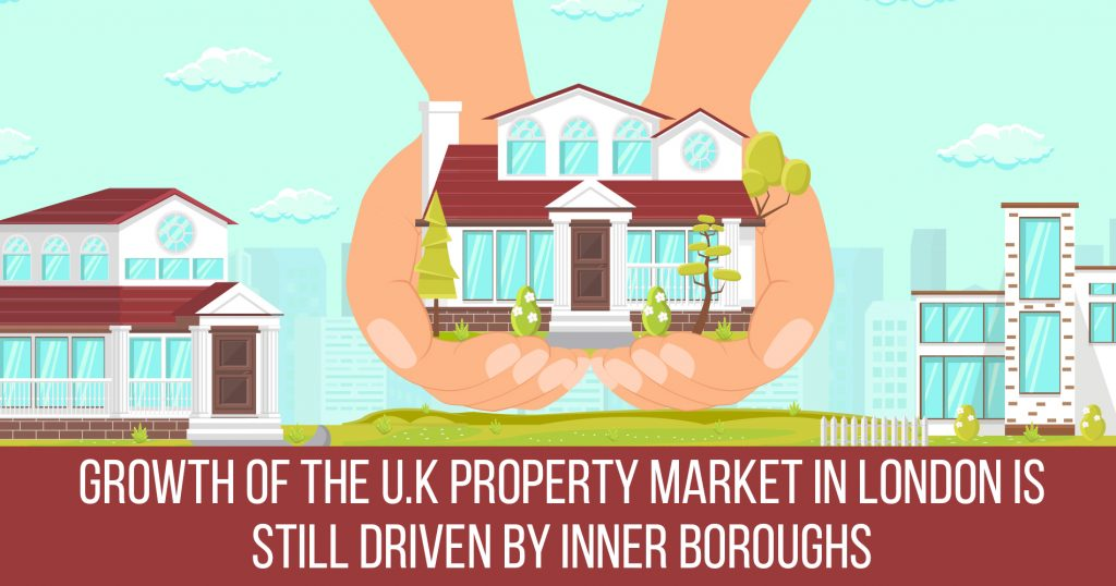 Growth of the U.K property market in London is still driven by inner boroughs