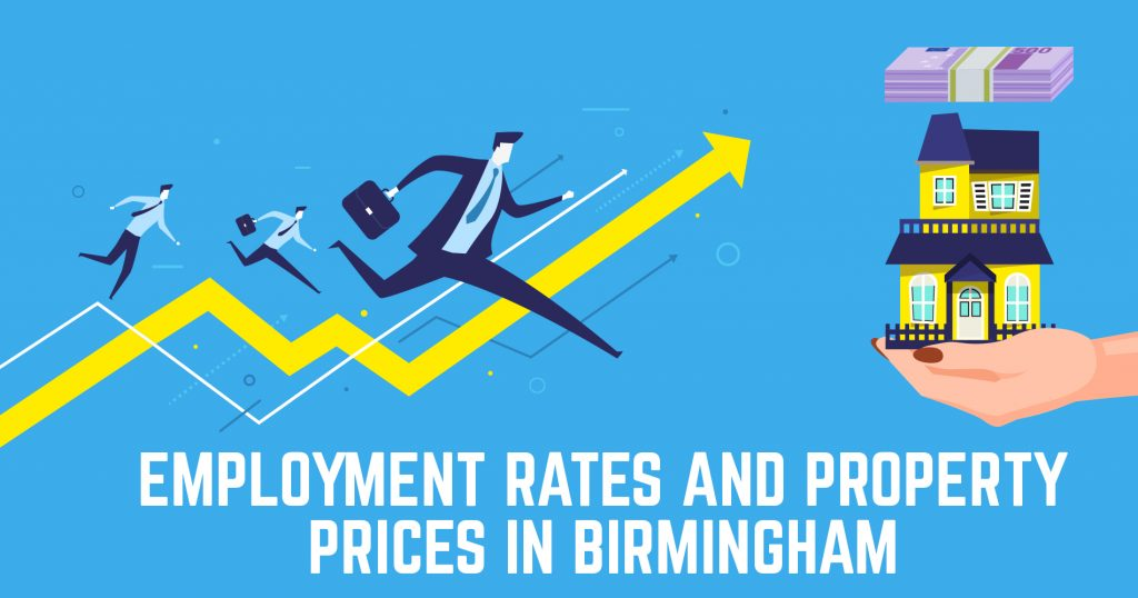 Employment Rates and Property Prices in Birmingham