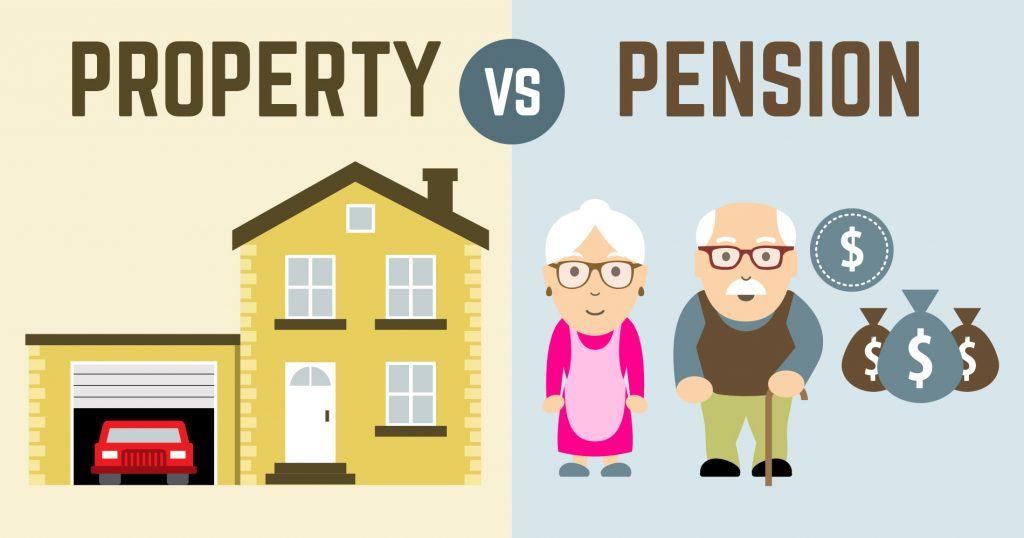 Property vs Pension