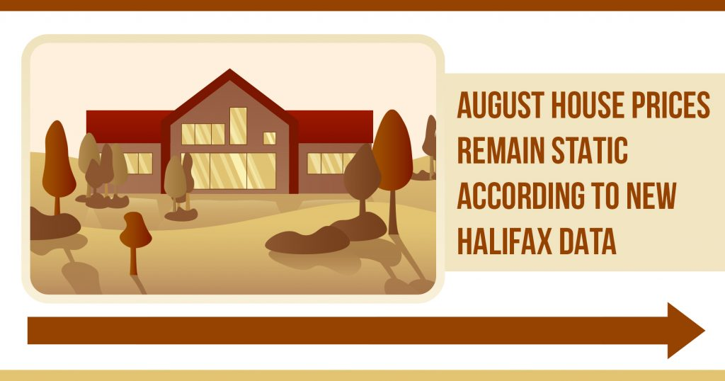 August House Prices Remain Static