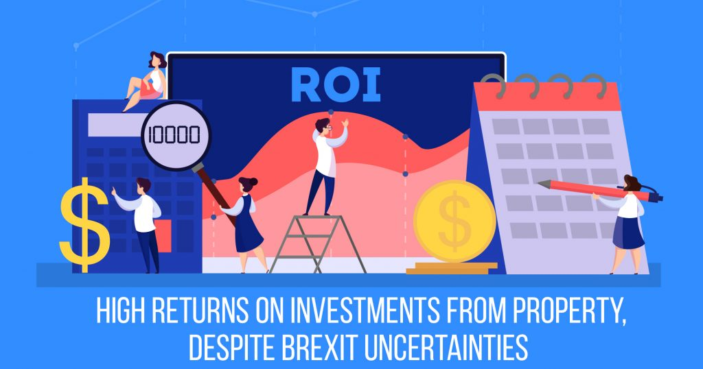 High Returns on Investments from Property, Despite Brexit Uncertainties