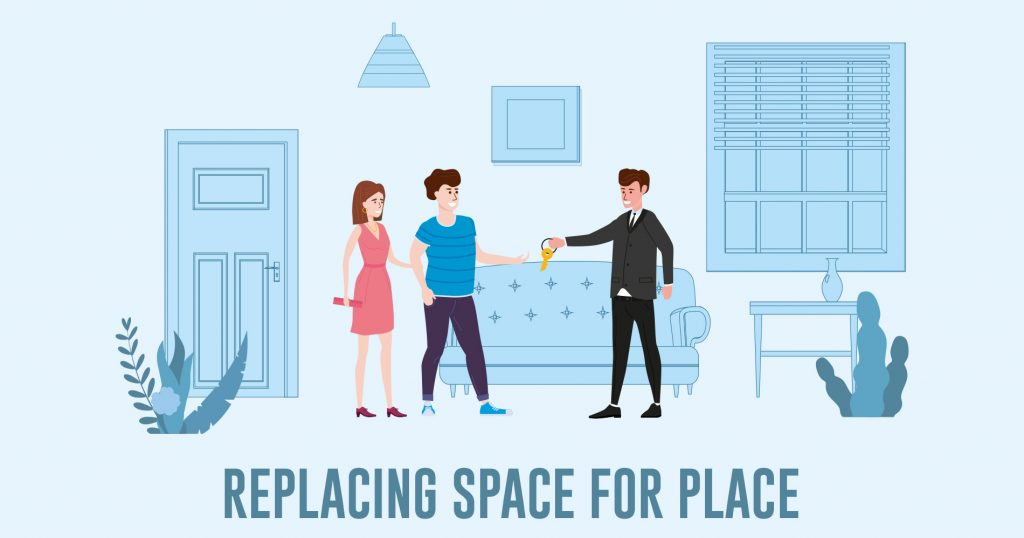 Replacing Space for Place