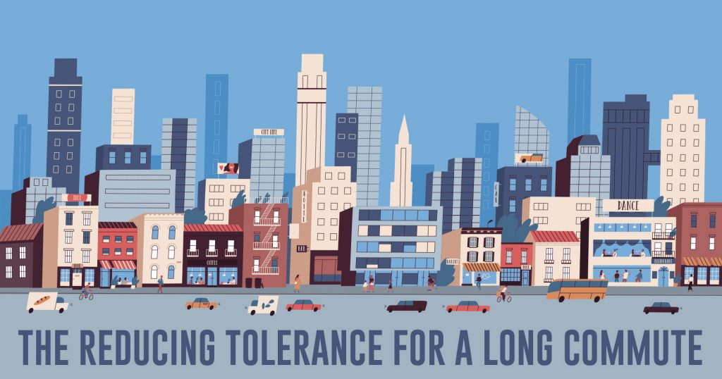 The Reducing Tolerance for a Long Commute