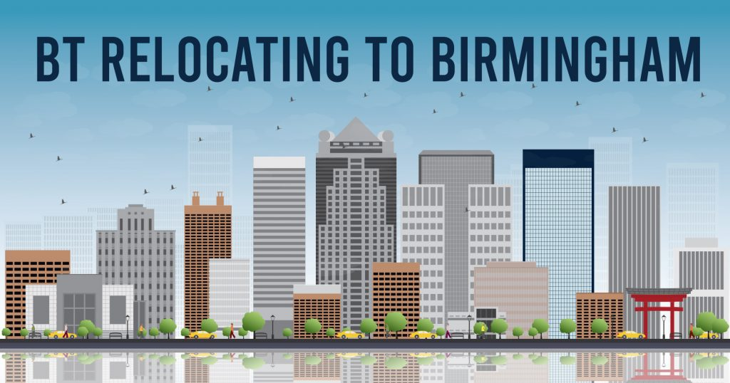 BT Relocating to Birmingham