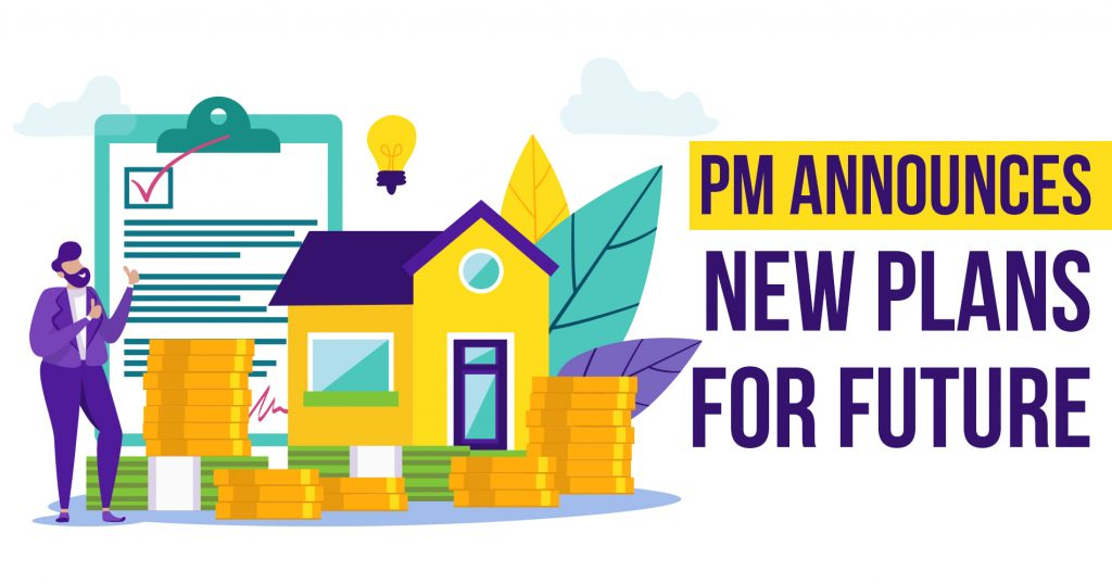 PM Announces New Plans for Future